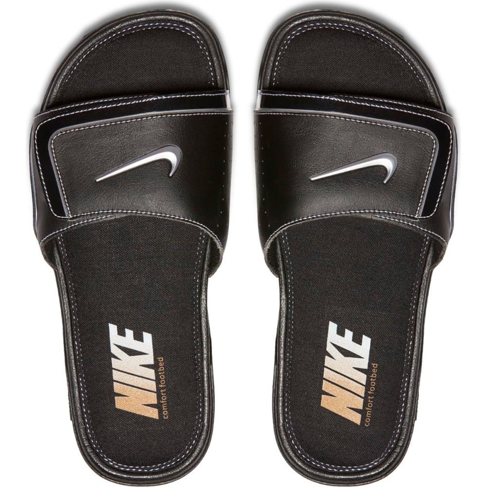 NIKE Men's Comfort 2 Slide Sandals - BLACK