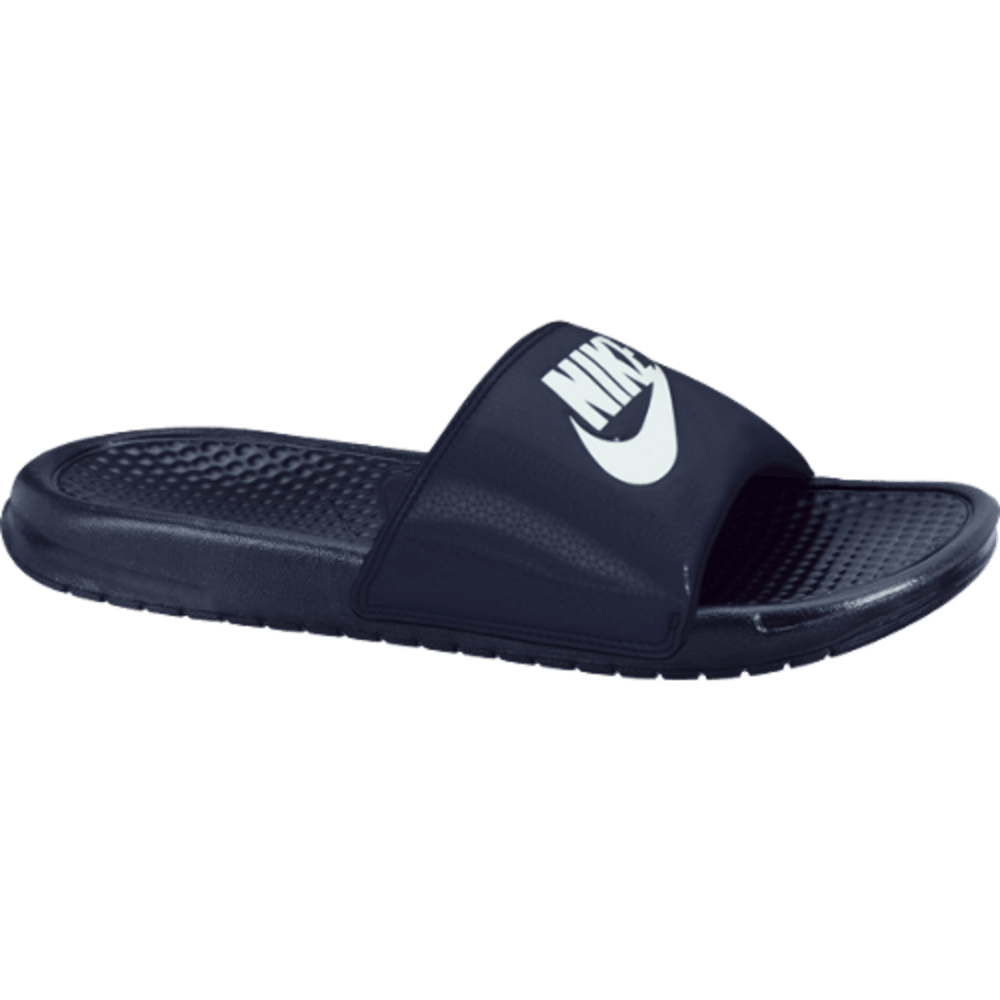 NIKE Men's Benassi JDI Slide Sandals - NAVY