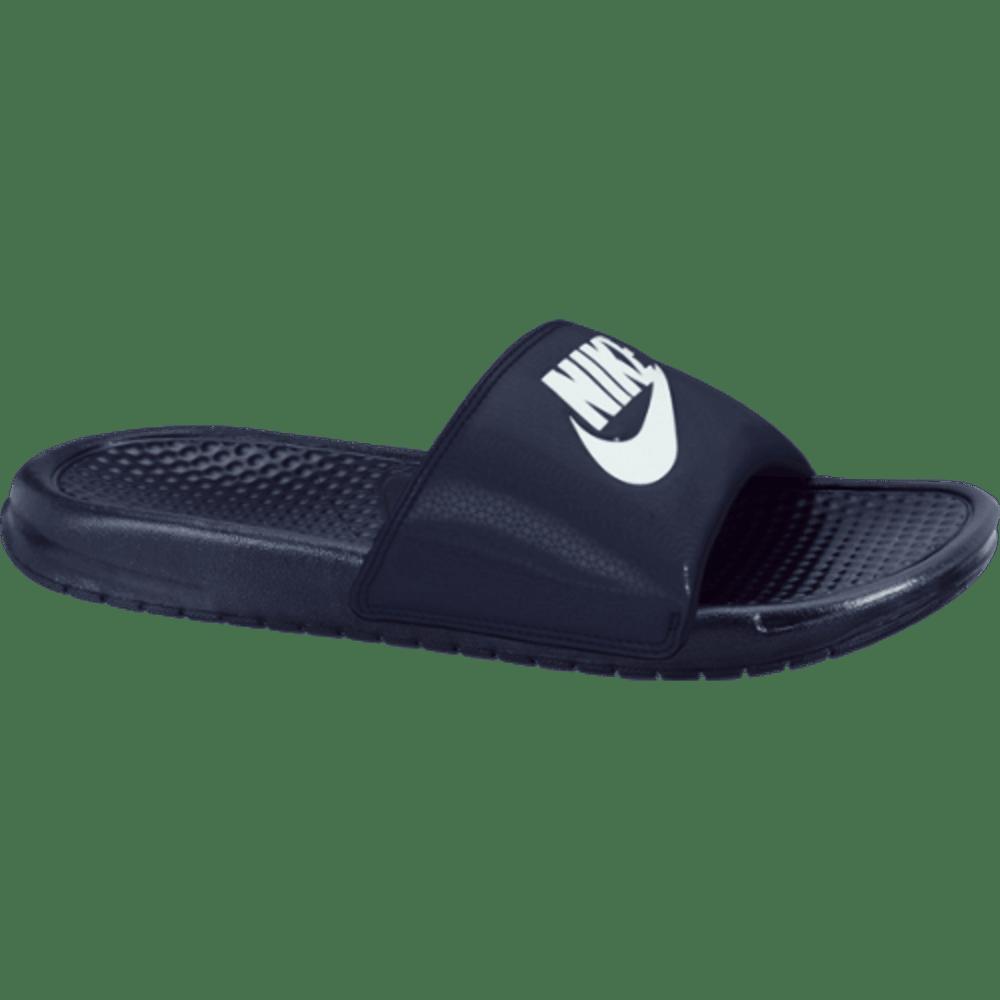 NIKE Men's Benassi JDI Slide Sandals - NAVY