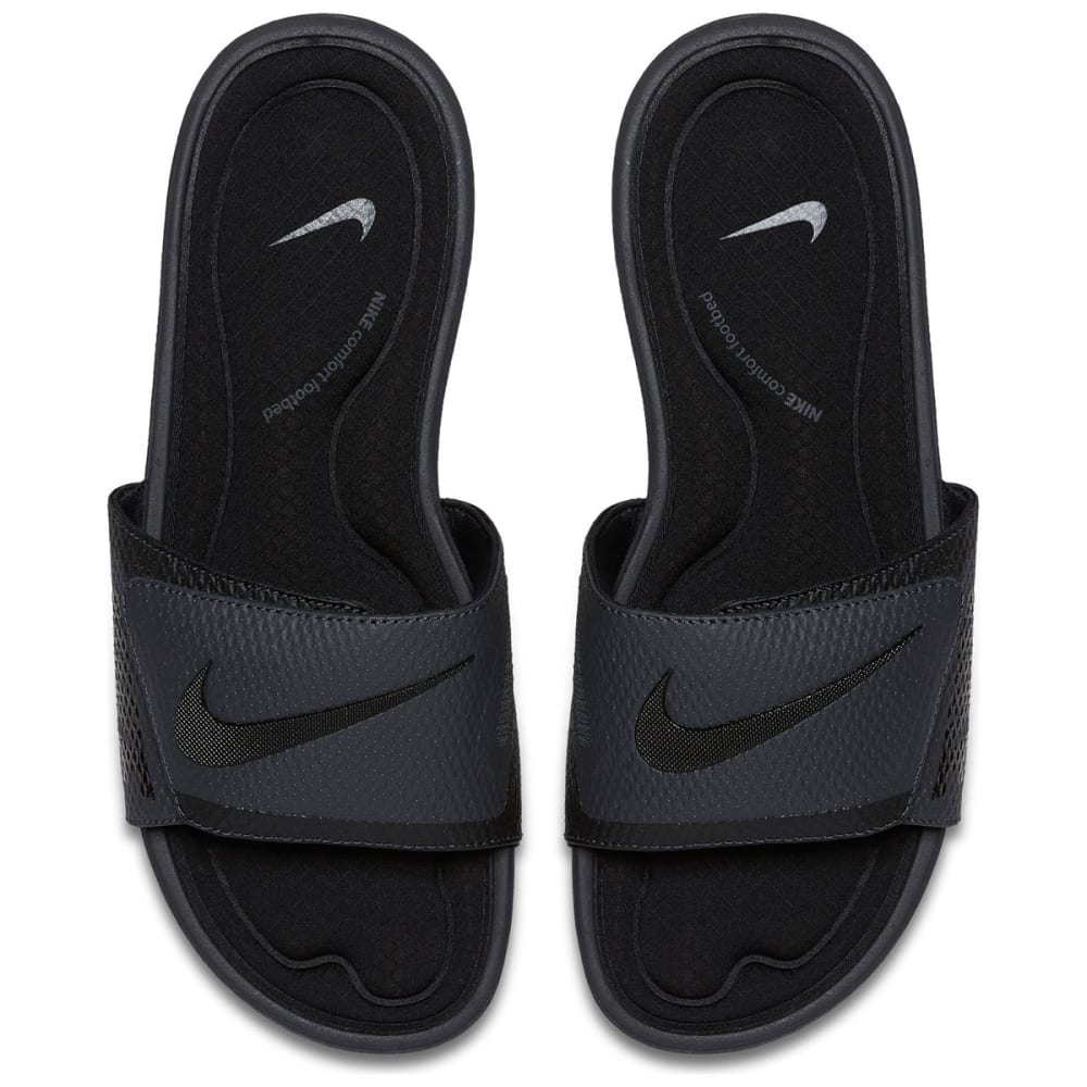 NIKE Men's Solarsoft Comfort Slide Sandals - BLACK - 090