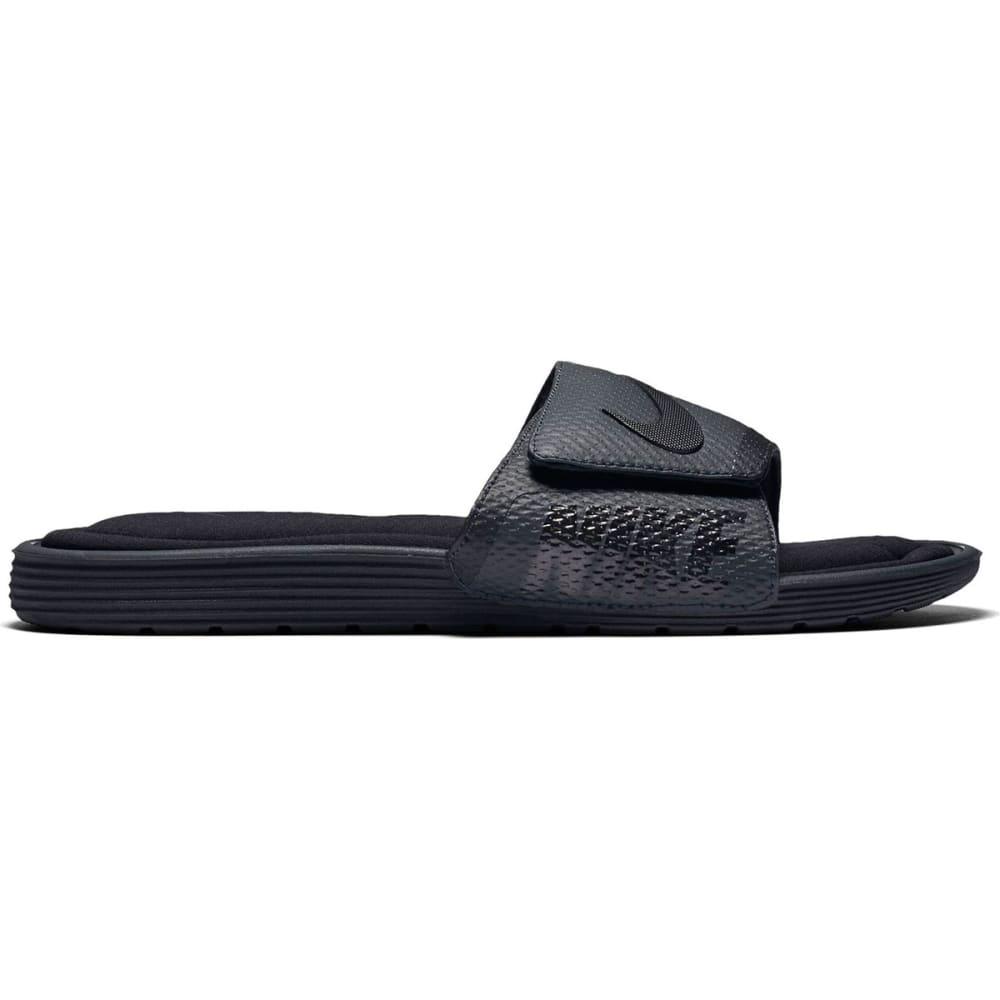 NIKE Men's Solarsoft Comfort Slide Sandals - BLACK - 090