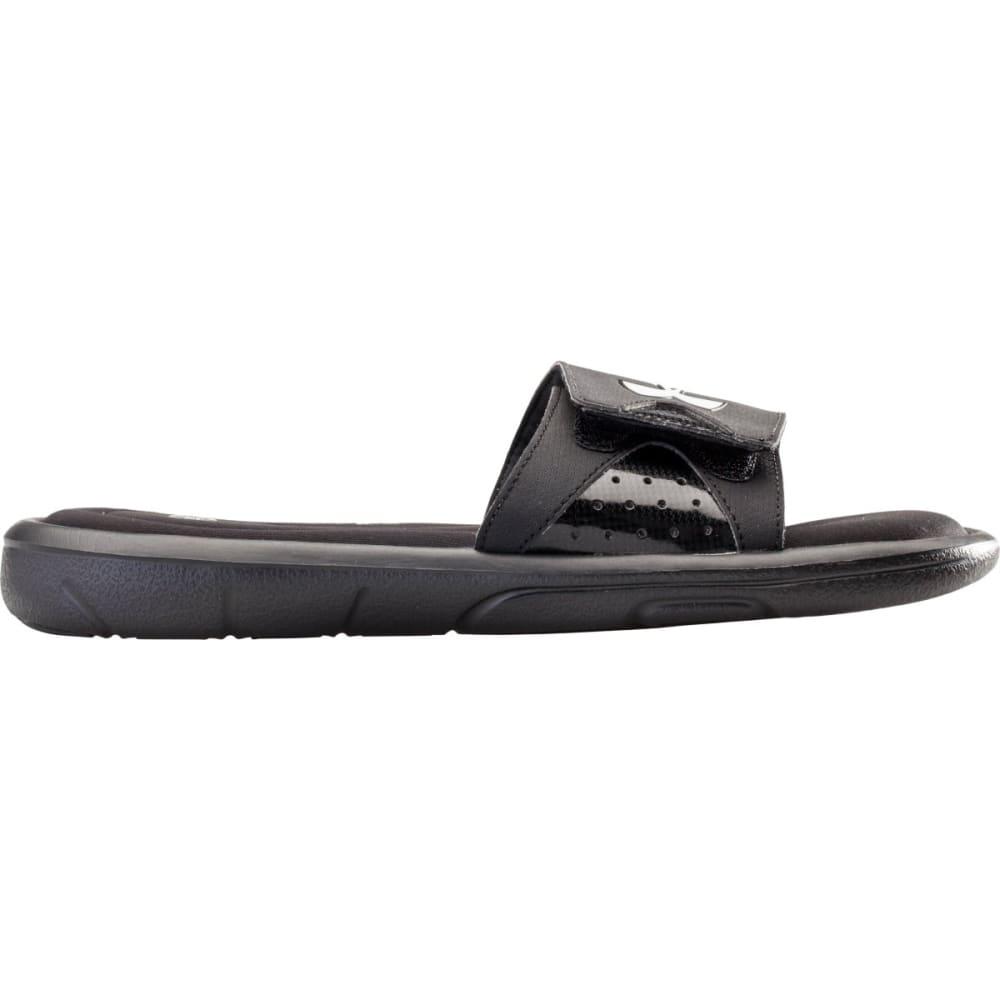 UNDER ARMOUR Men's Ignite Slide Sandals - BLACK