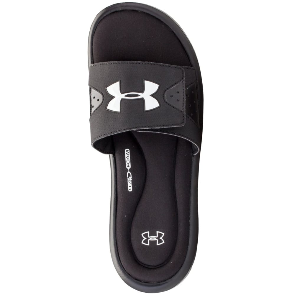 UNDER ARMOUR Men's Ignite Slide Sandals - BLACK