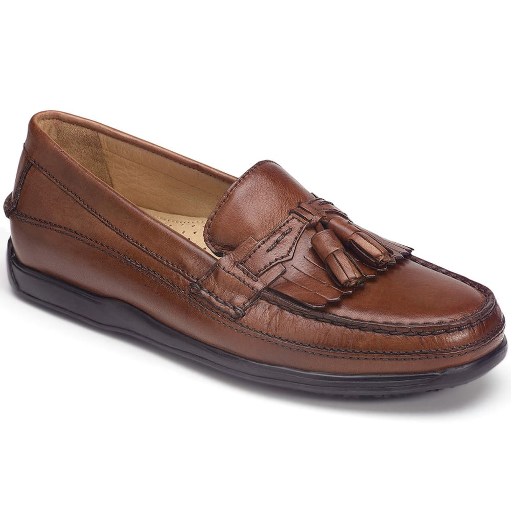 DOCKERS Men's Sinclair Shoes, Wide Width - BROWN