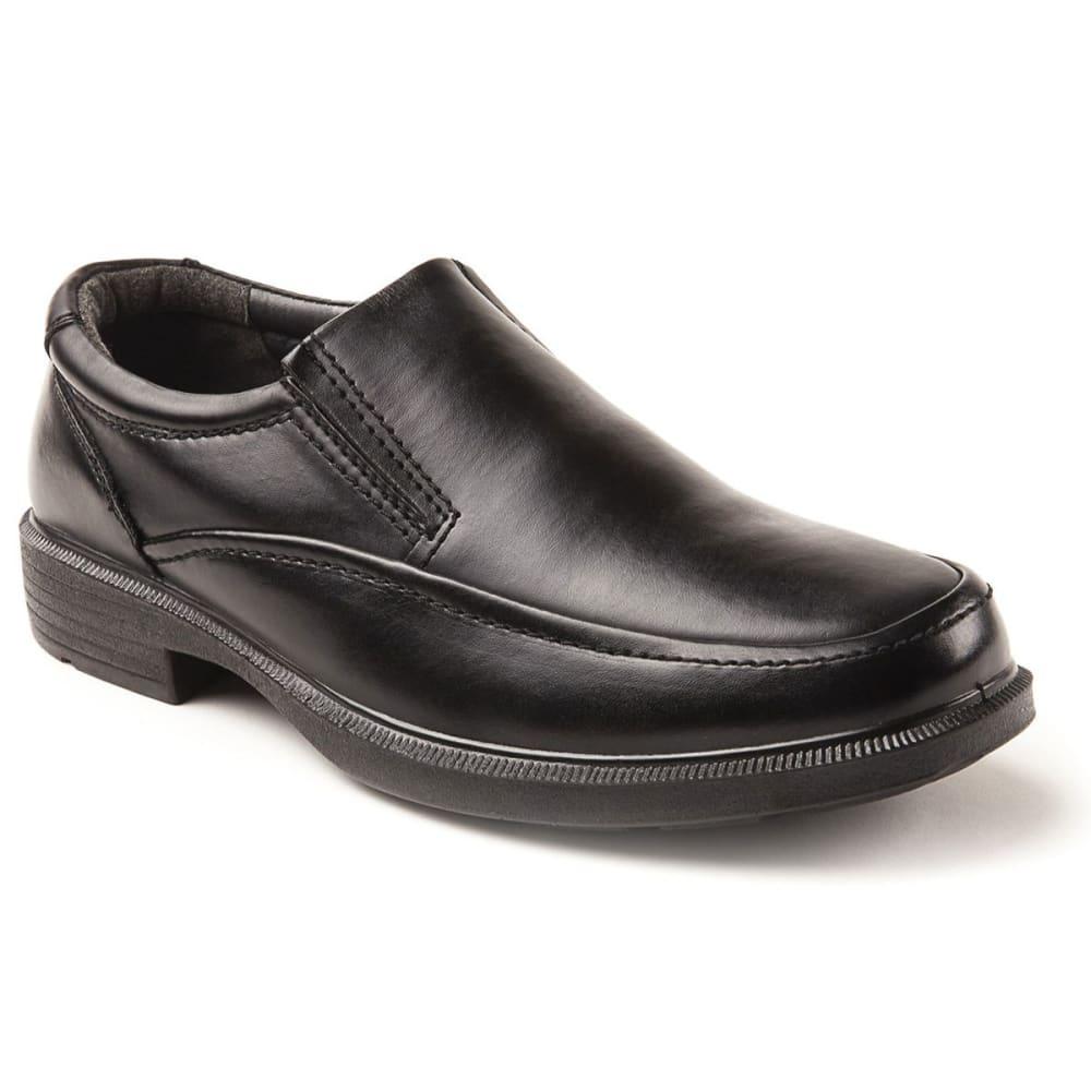DEER STAGS Men's Brooklyn Slip-On Dress Shoes, Wide 9W