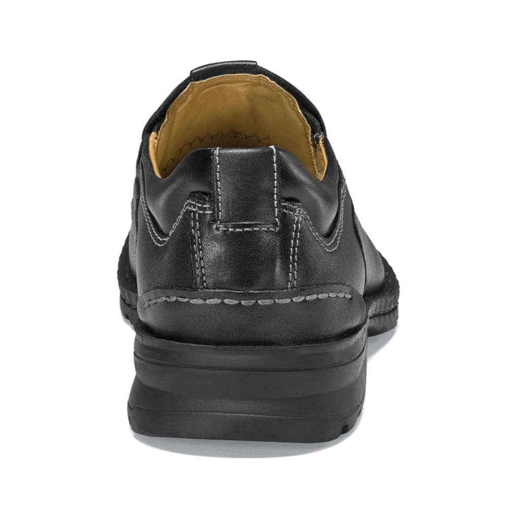 DOCKERS Men's Agent Slip-On Shoes, Wide Width - BLACK
