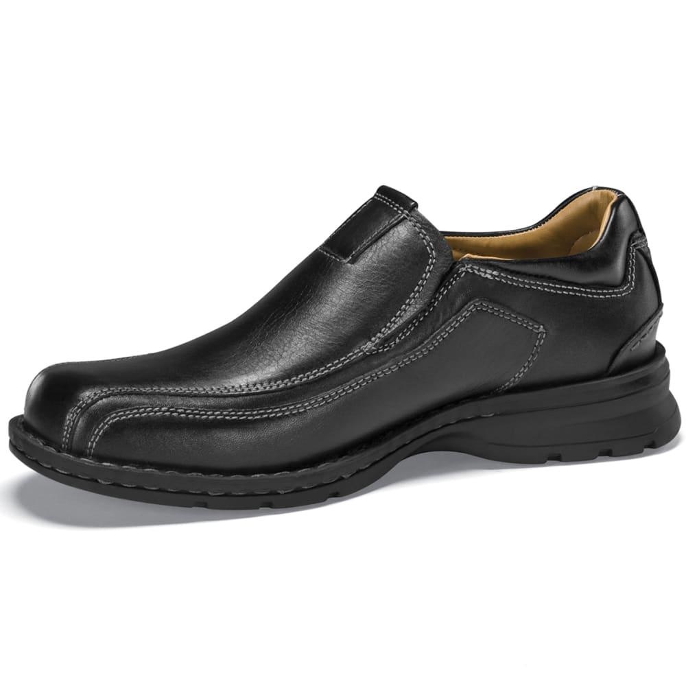 DOCKERS Men's Agent Slip-On Shoes, Wide Width - BLACK