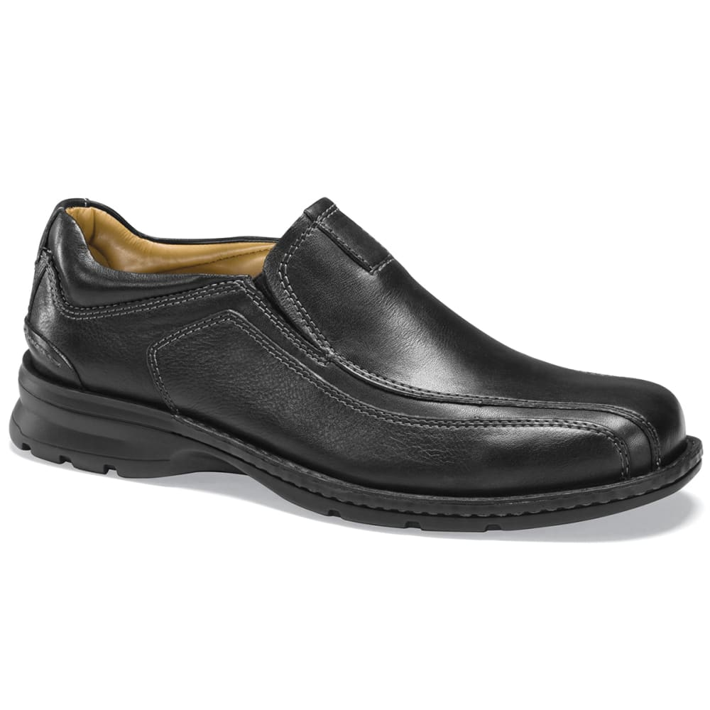 Dockers Men's Agent Slip-On Shoes, Wide Width - Black, 8