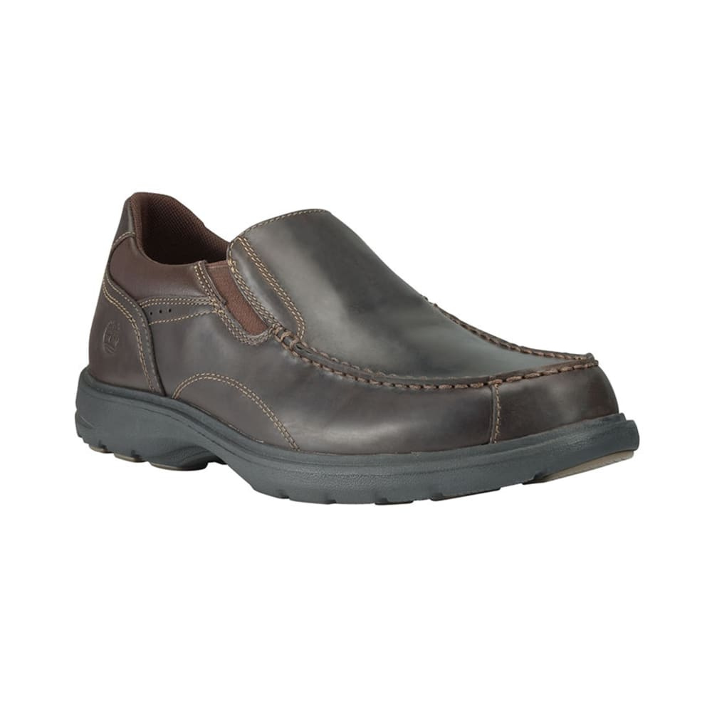 TIMBERLAND Men's Earthkeepers Richmont Slip-On Shoes, Wide Width - BROWN
