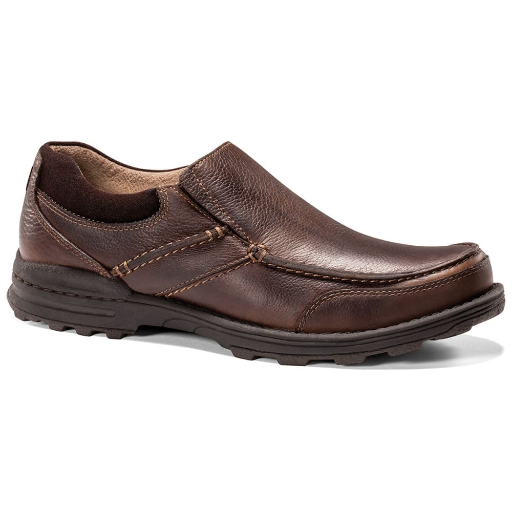 Dockers Men's Keenland Whiskey Slip On Shoes - Brown, 8