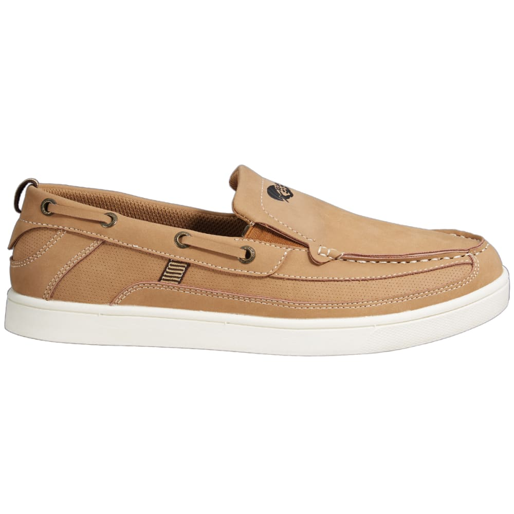 ISLAND SURF Pier Iseon Slip-On Boat Shoes - PARCHMENT