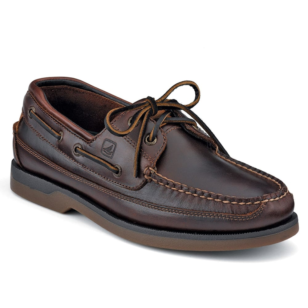 SPERRY Men's Mako 2-Eye Canoe Moc Boat Shoes - AMARETTO