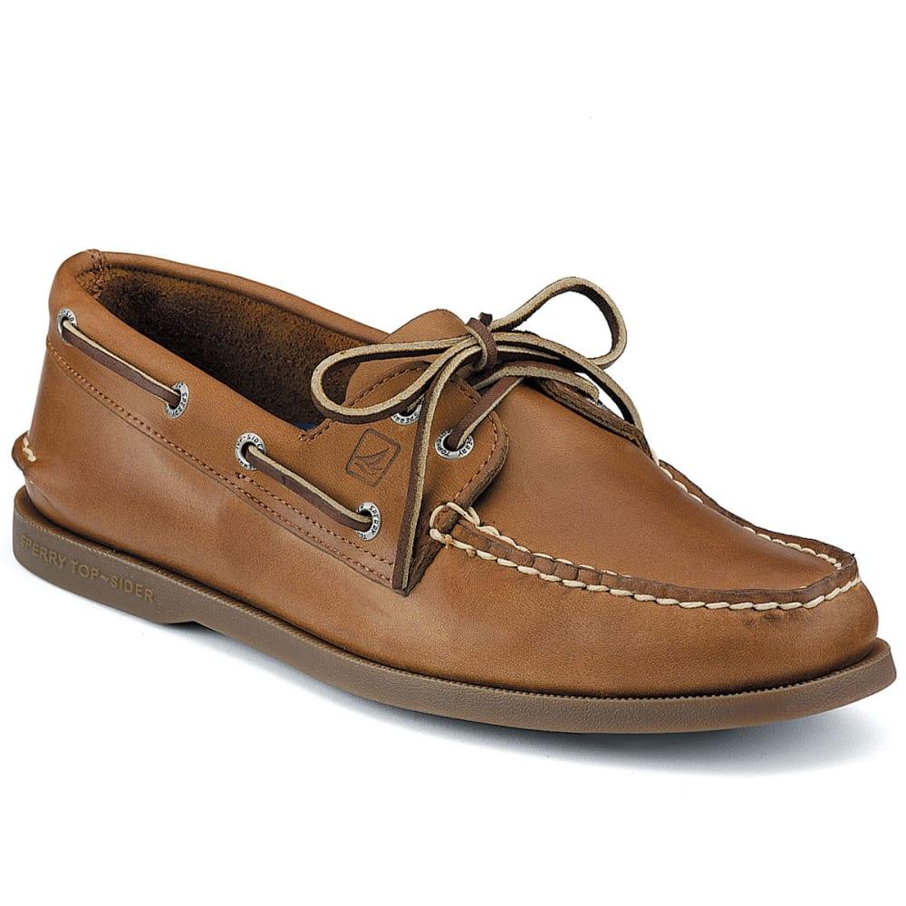 SPERRY Men's Authentic Original 2-Eye Boat Shoes - SAHARA MEDIUM