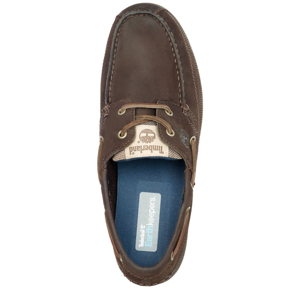 Timberland Men's Kia Wah Bay Chocolate, Wide Width - BROWN