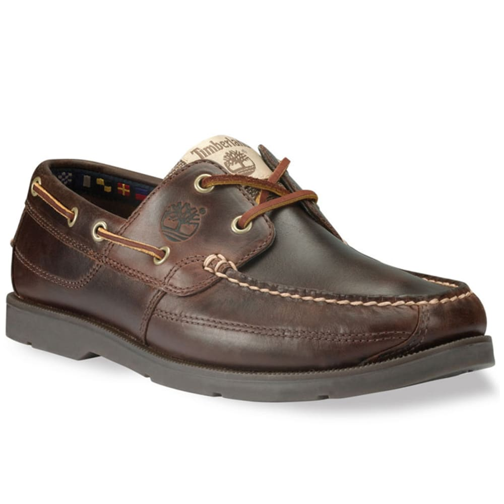 TIMBERLAND Men's Kia Wah Bay Shoes, Smooth Brown - BROWN