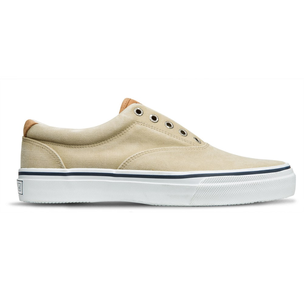 SPERRY Men's Striper CVO Salt Washed Twill Sneakers - LIGHT BROWN