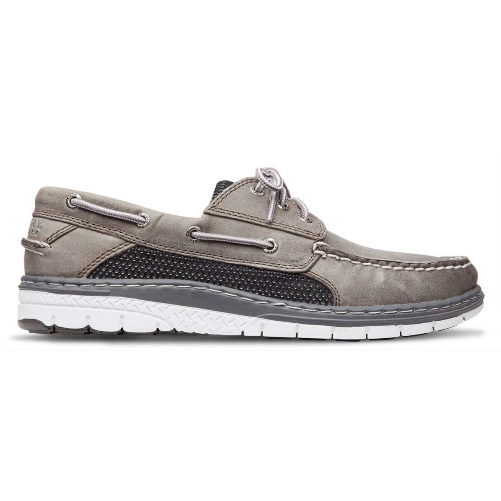 SPERRY Men's Billfish 3-Eye Boat Shoes - GREY/BLACK