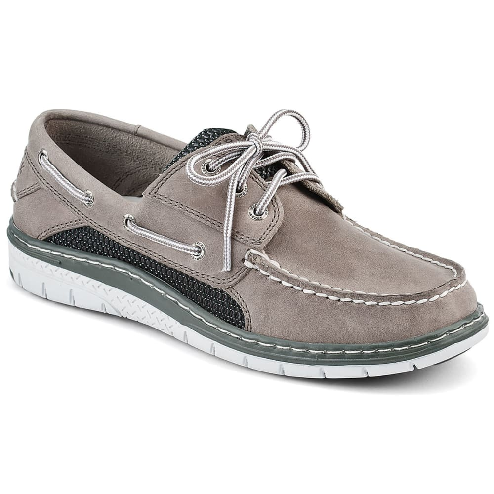 SPERRY Men's Billfish 3-Eye Boat Shoes - GREY/BLACK
