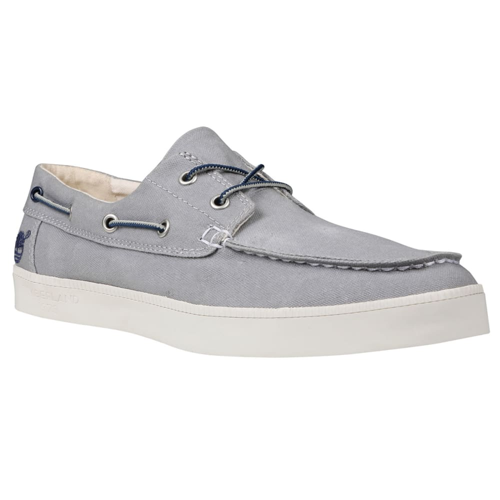 TIMBERLAND Men's Newport Bay Canvas Slip-On Shoes - LIGHT GREY