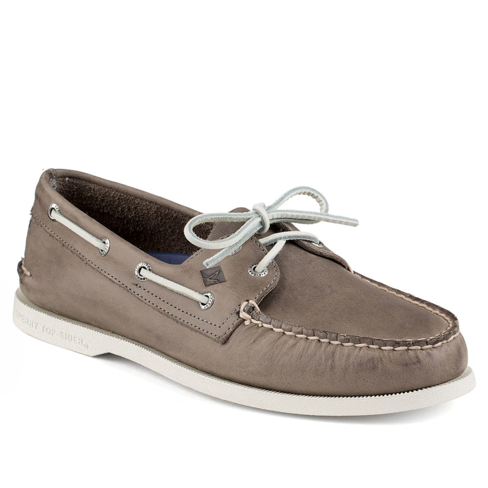 SPERRY Men's Authentic Original Sarape Boat Shoe - GREY