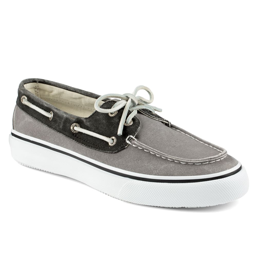 SPERRY Men's Bahama 2-Eye Boat Sneakers - GREY/BLACK