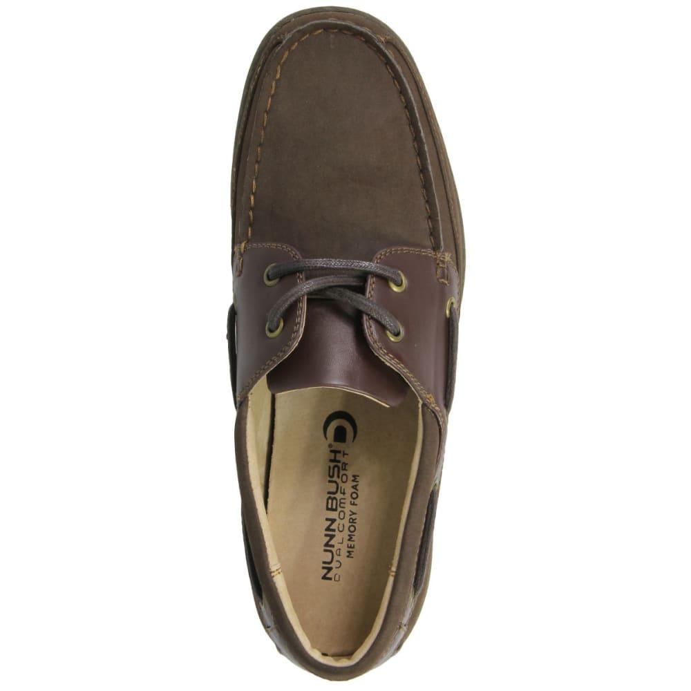 NUNN BUSH Men's Outrigger Shoes - DARK BROWN