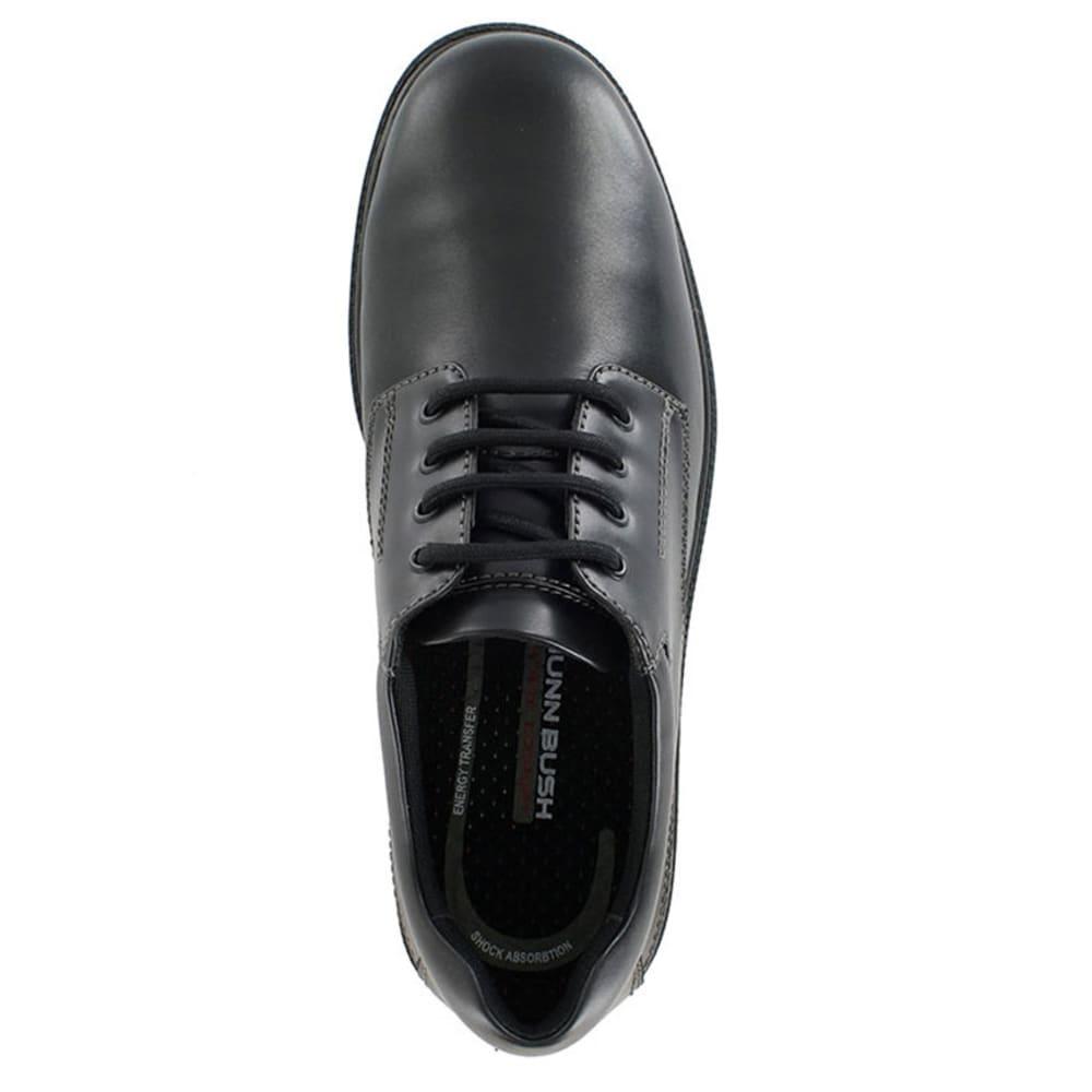 NUNN BUSH Men's Stillwater Plain Toe Waterproof Shoes - BLACK