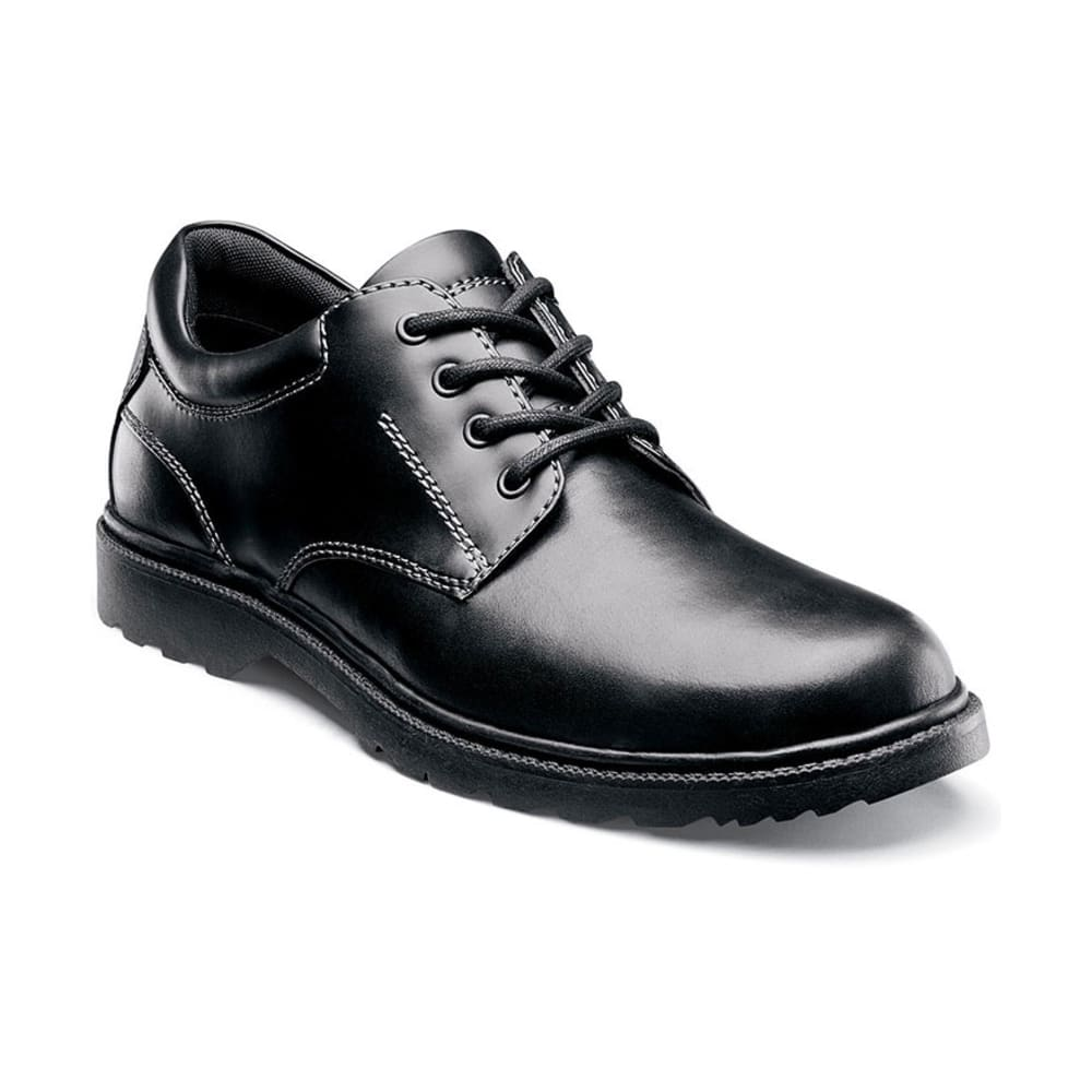 NUNN BUSH Men's Stillwater Plain Toe Waterproof Shoes - BLACK