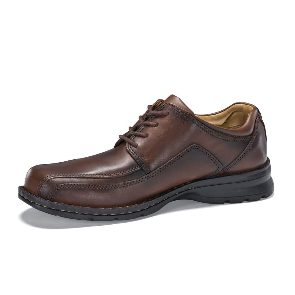 DOCKERS Men's Trustee Oxford Shoes - BROWN 9029023