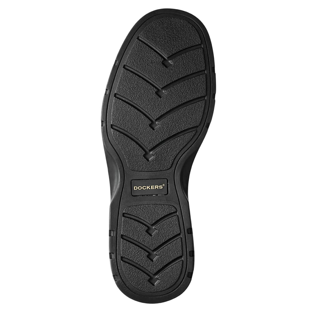 DOCKERS Men's Trustee Shoes, Wide Width - BLACK 9029024