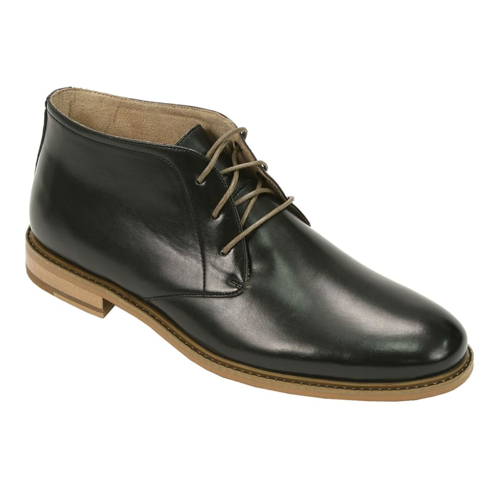 DEER STAGS Men's Seattle Chukka Boots - BLACK