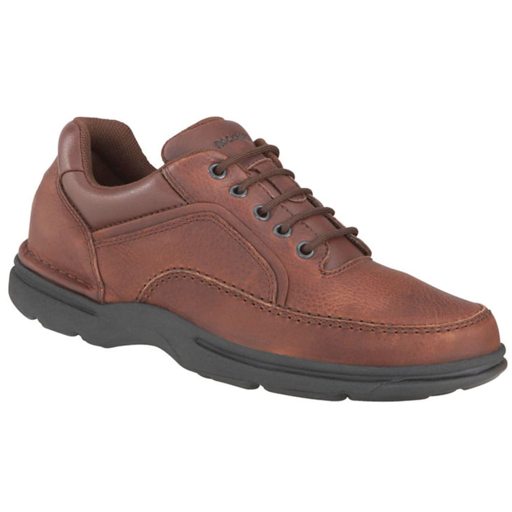 ROCKPORT Men's Eureka Oxford Shoes, Wide - BROWN