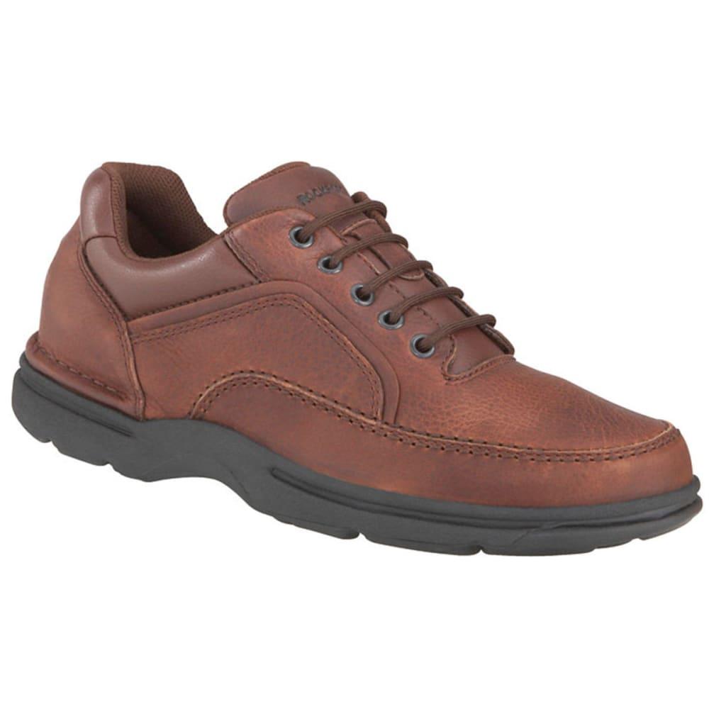 ROCKPORT Men's Eureka Oxford Shoes, Wide - BROWN