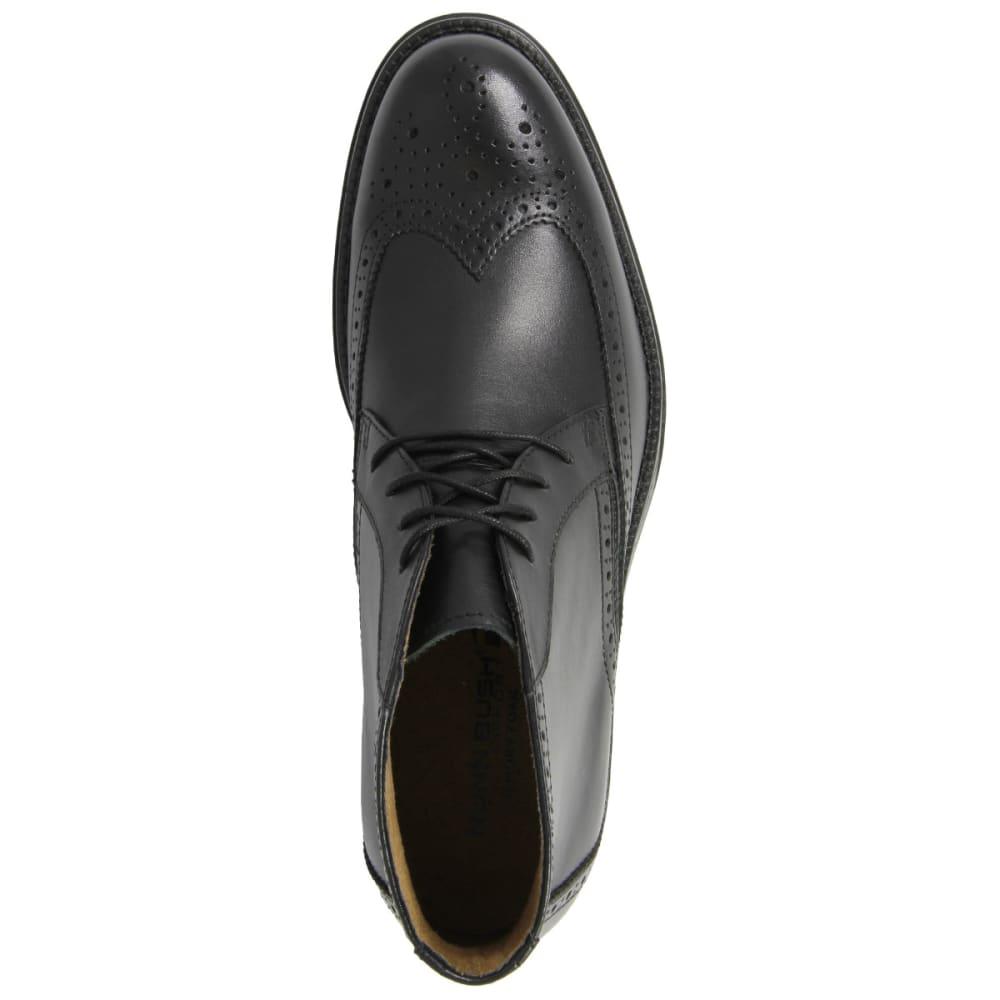 NUNN BUSH Men's Rawson Wing Tip Chukka Shoes - BLACK