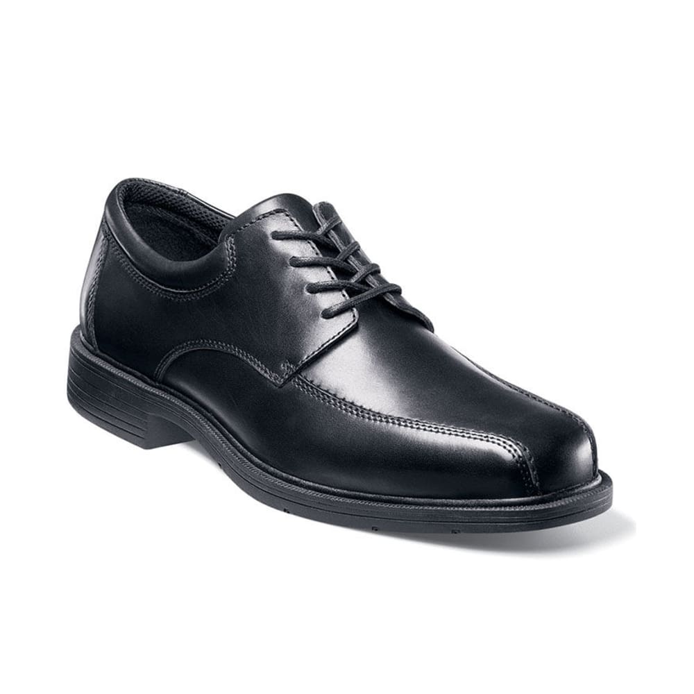 NUNN BUSH Men's Jasen Bicycle Toe Oxford - BLACK