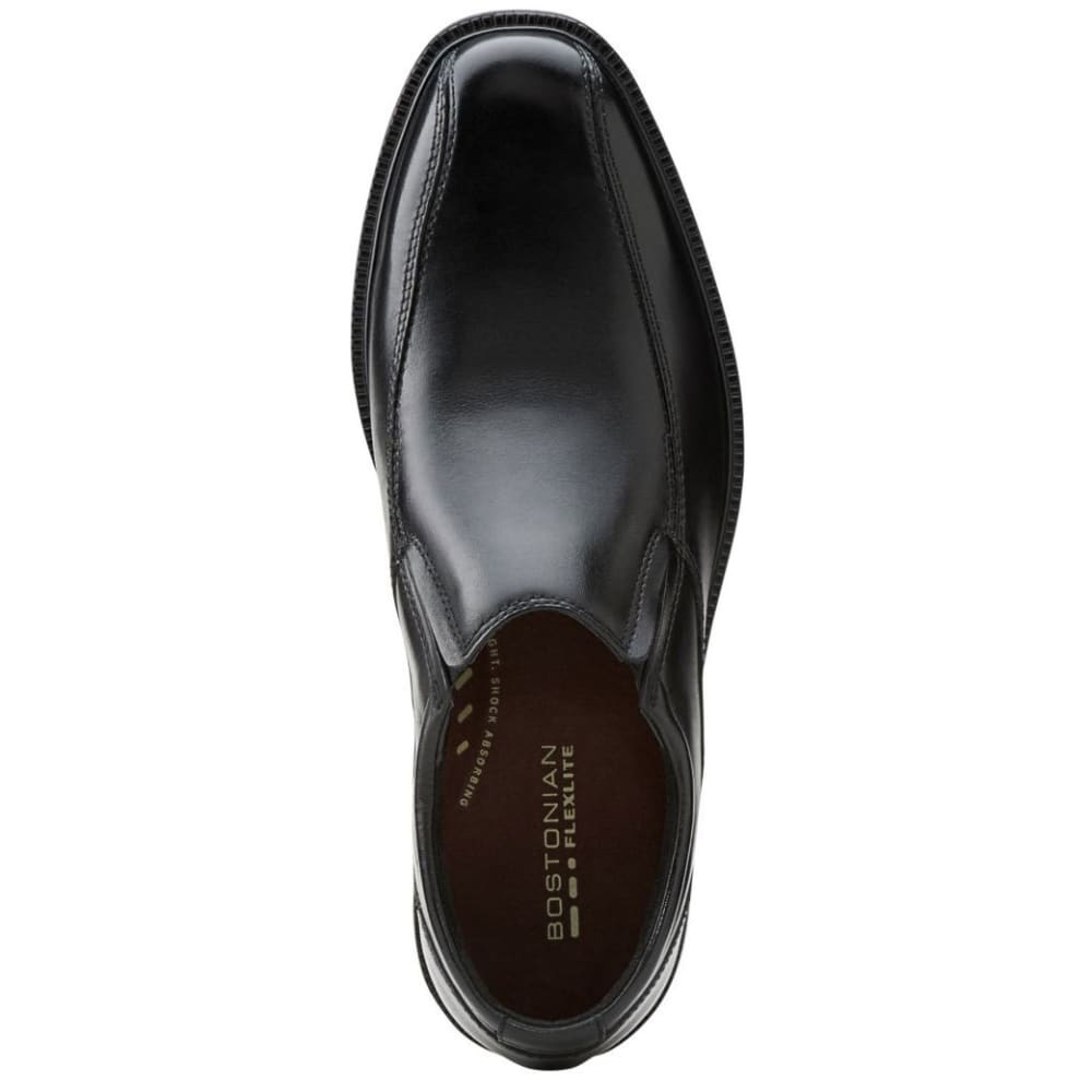 BOSTONIAN Men's Bardwell Step Casual Dress Shoes, Wide - BLACK