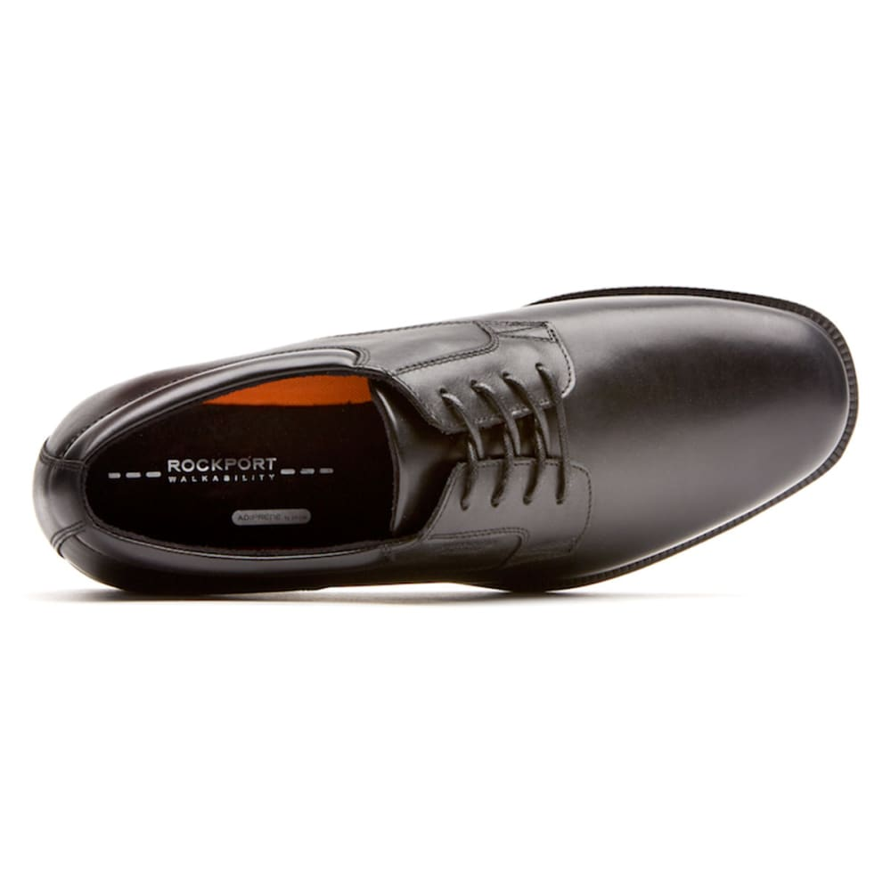 ROCKPORT Men's Essential Details Plain-Toe Shoes - BLACK