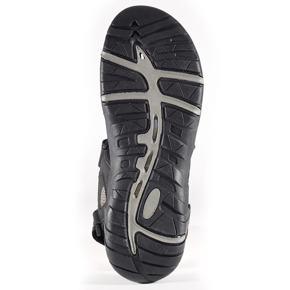 ISLAND SURF Men's Mako Sandals - BLACK