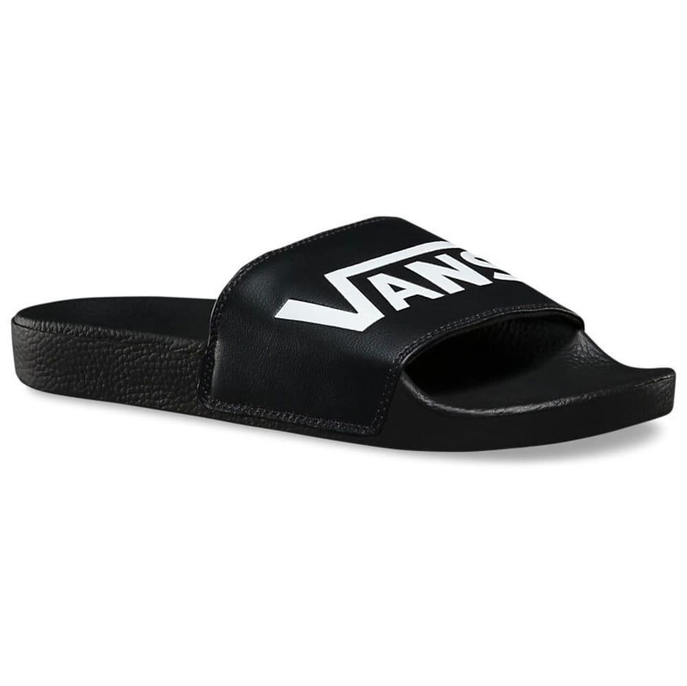 VANS Men's Slide-On Sandals - BLACK
