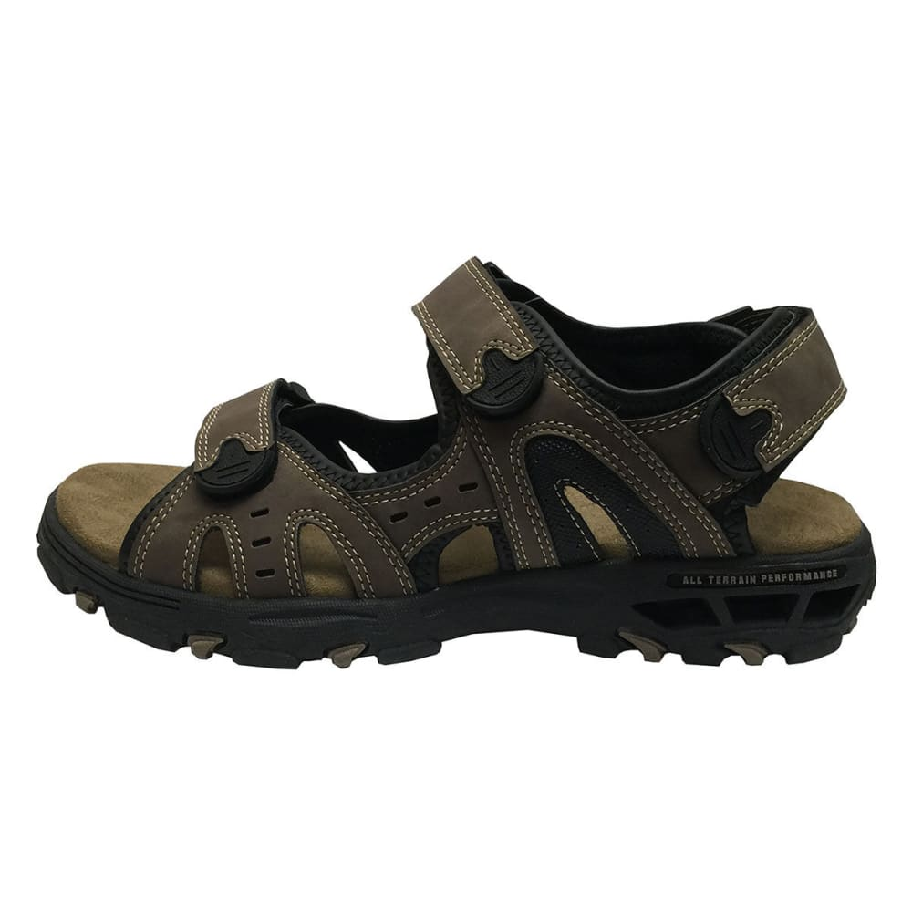 COLEMAN Men's Wave Rider Three-Strap Sandals - BLOWOUT - BROWN