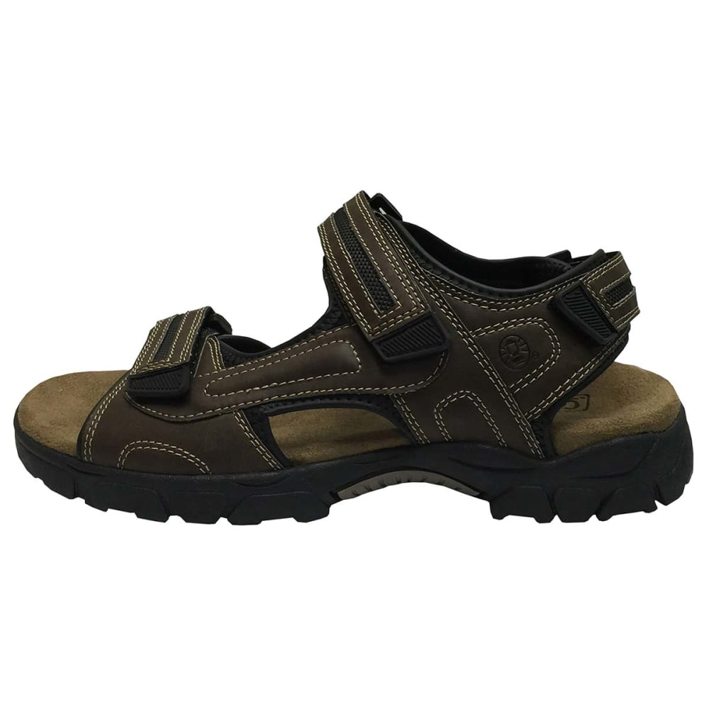 COLEMAN Men's Wildfire 3-Strap Sandals - BROWN