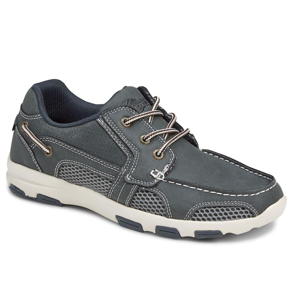 ISLAND SURF COMPANY Men's Atlantic Boat Shoes - NAVY