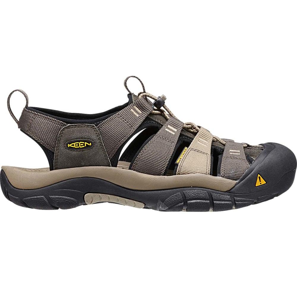 KEEN Men's Newport H2 Sandals, Black Olive - BLACK OLIVE