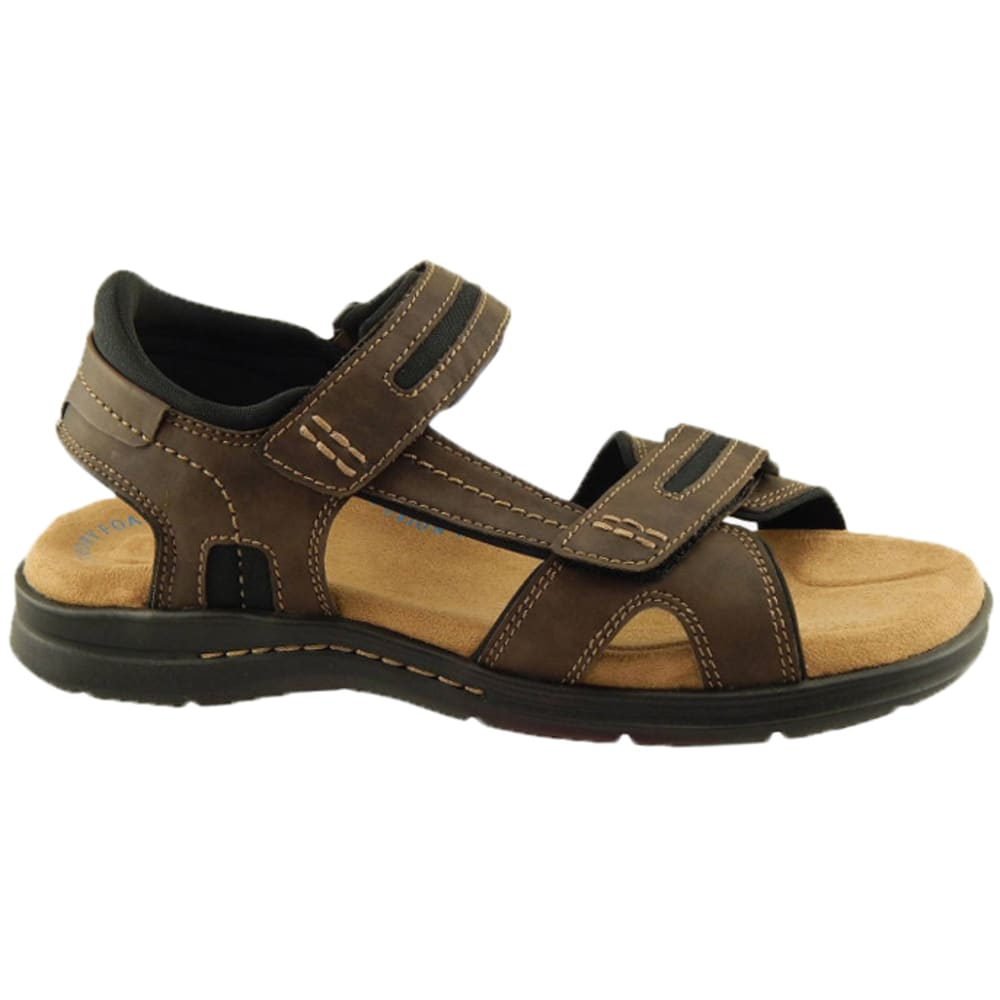 DOCKERS Men's Solano Sandals - DARK TAN 90-30052