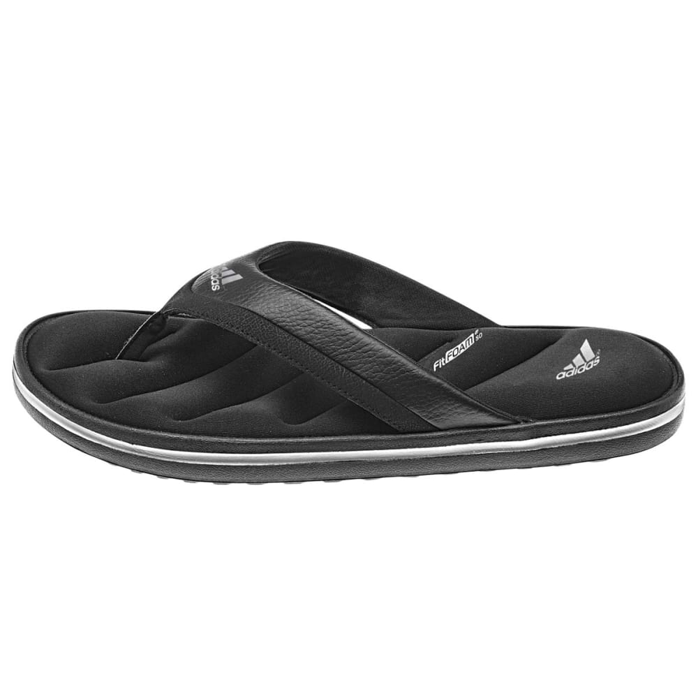 ADIDAS Men's Zeitfrei Slide Sandals - BLACK/SILVER