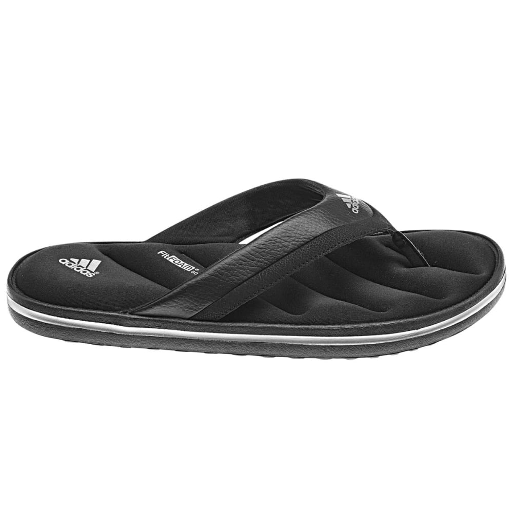 ADIDAS Men's Zeitfrei Slide Sandals - BLACK/SILVER