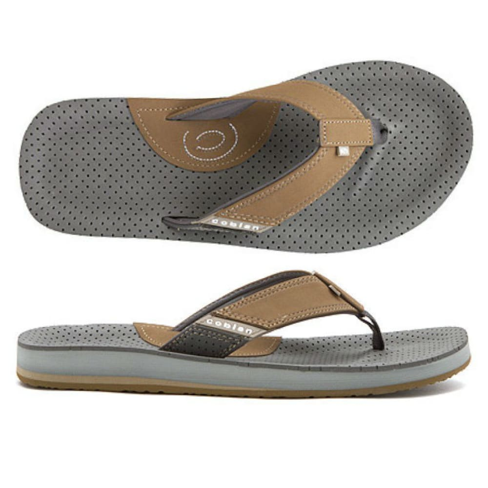 COBIAN Men's ARV II Flip Flops - CHOCOLATE