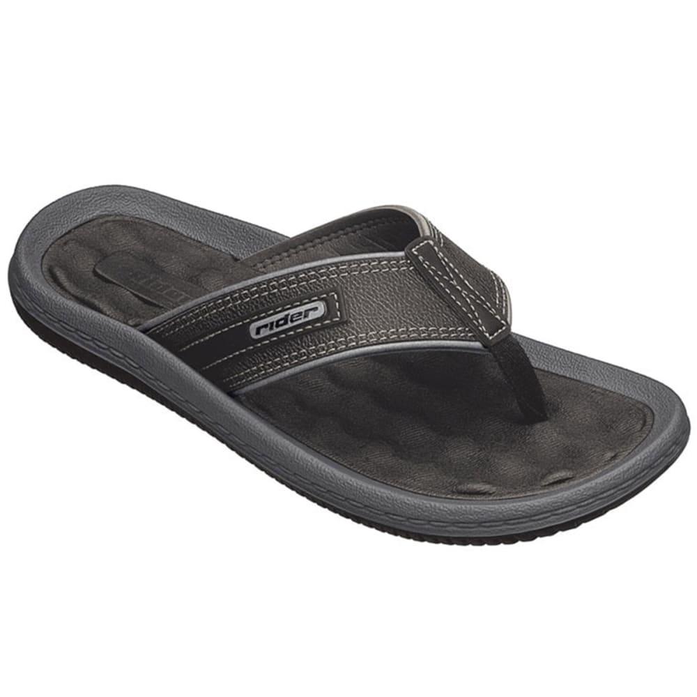 RIDER Men's Dunas II Flip-Flops - BLACK