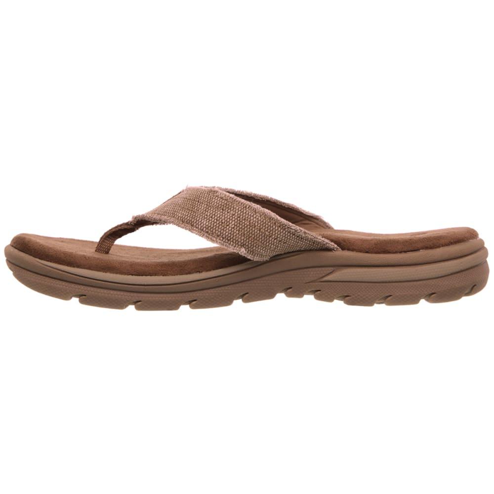 SKECHERS Men's Bosnia Flip-Flops - TAN