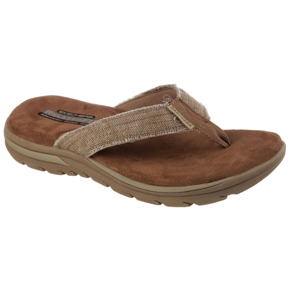 SKECHERS Men's Bosnia Flip-Flops - TAN